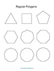 regular polygons worksheet galleryhip com the hippest
