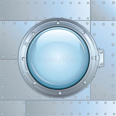ship rocket ship or rocket window vector image stock vector image