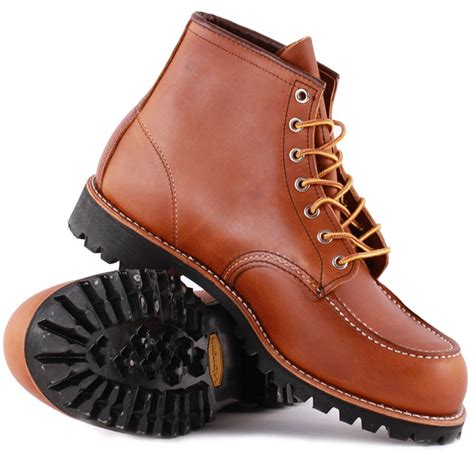 wings mens boots wing moc lug mens boots in