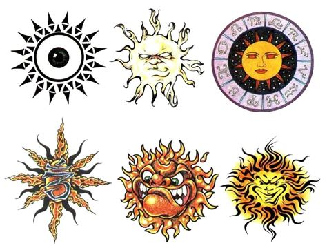 sun and moon tattoo design sun images designs
