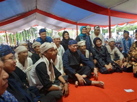 gubernur banten terima aspirasi masyarakat adat baduy
