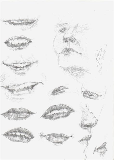 how to draw mouths step 7 how to draw for hairstyles