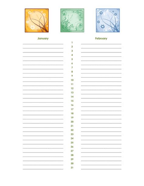 birthday and anniversary calendar template birthday and anniversary calendar any year