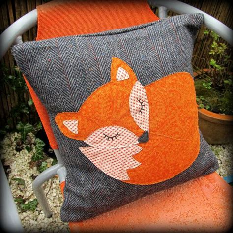 orange cusions 25 best ideas about fox pillow on pinterest animal