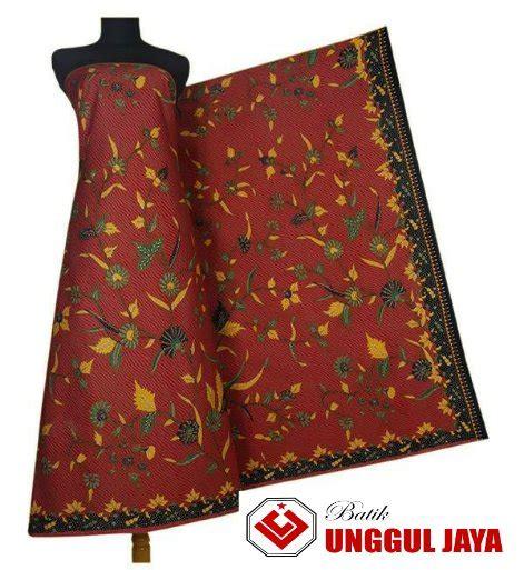 jual grosir kain batik unggul jaya hitam manis batik