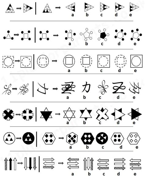 analogy pattern recognition questions 17 best images about non verbal reasoning on pinterest