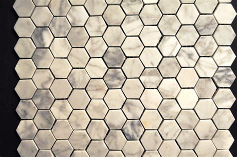 white hexagon pattern cararra white small hexagon pattern glass tile home