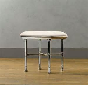 restoration hardware bathroom storage meridien bath stool storage furniture restoration