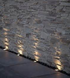 steinmauer beleuchtung 1000 ideas about outdoor wall lighting on
