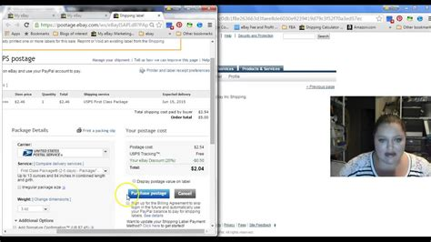 tutorial carding di ebay how to pay ebay postage with a rewards debit or credit