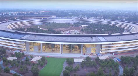 Apple Park | apple park gets greener in latest drone video cult of mac