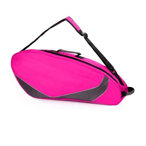 Tas Ransel Gesper Pink badminton shuttlecock raket bola tas travel raket tenis