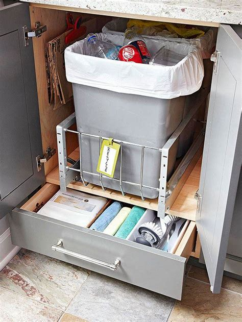 17 best images about trash disposal bins cabinets on