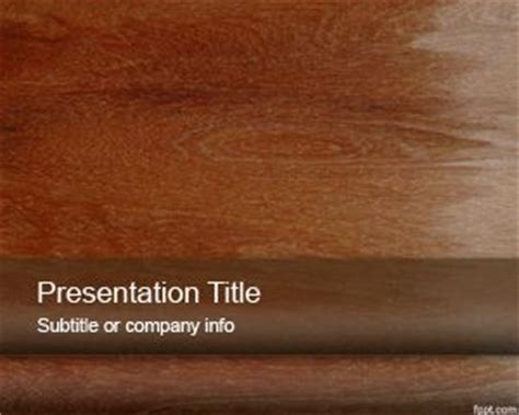 Wood Material Powerpoint Template Wood Powerpoint Template