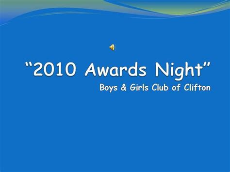 2010 awards night authorstream