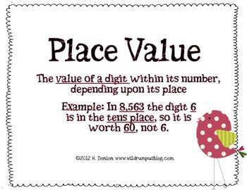 A Place Explanation 231 Best Images About Place Value On Expanded Notation Activities And Student