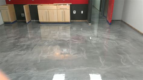 Metallic Epoxy Flooring   PCC Columbus, Ohio