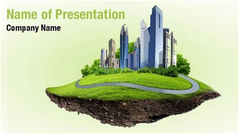 Modern Nature Landscape Powerpoint Templates Modern Nature Landscape Powerpoint Backgrounds Landscape Powerpoint Template