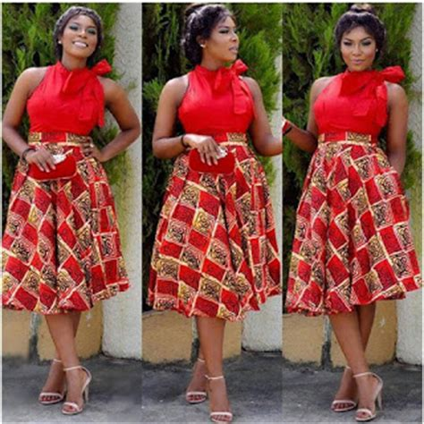creative ankara styles for african ladies 2015 design top 11 latest ankara skirt and blouse styles 2016