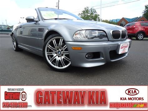 Gateway Kia Quakertown 2005 Bmw M3 Convertible In Silver Grey Metallic K10354