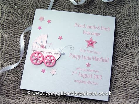Handmade New Baby Cards - precious handmade new baby card