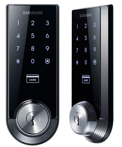 Nfc Front Door Lock Fancy A Smart Home Meet Samsung Smart Door Lock Shs 3320