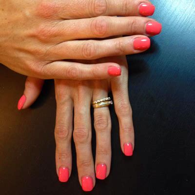 Faux Ongles Couleur by Ongle En Gel Couleur Orange