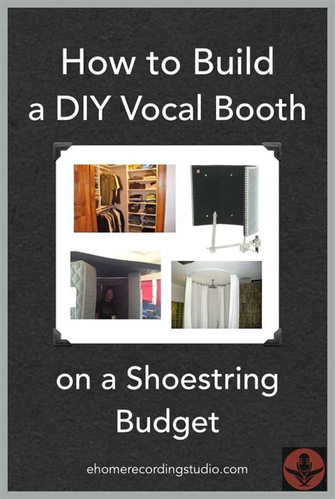 how to make a vocal booth in a bedroom 78 ideas about recording booth on pinterest recording