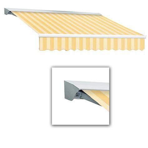 awntech retractable awning awntech 18 ft lx destin left motor retractable acrylic