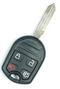 Ford Key 2012 Ford Fusion Key Remote Keyless Entry Key Fob