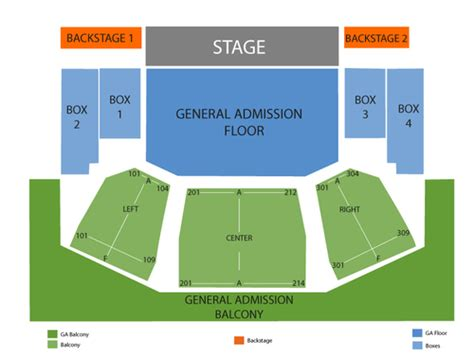 house of blues cleveland floor plan house of blues cleveland seating chart and tickets