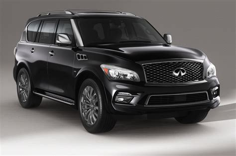 infiniti jeep 2016 2015 infiniti qx80 limited first test motor trend