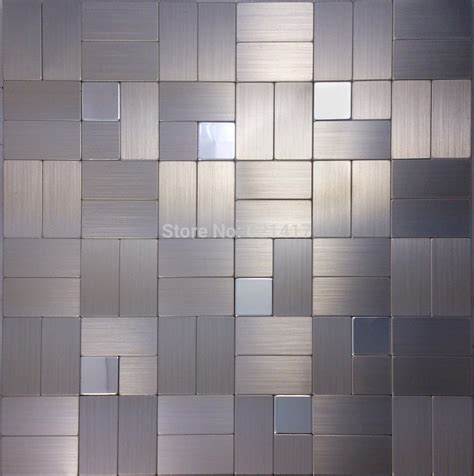 metal mosaics tile for bathroom backsplash home interiors aluminum plate metal mosaic mirror mosaic tile for kitchen