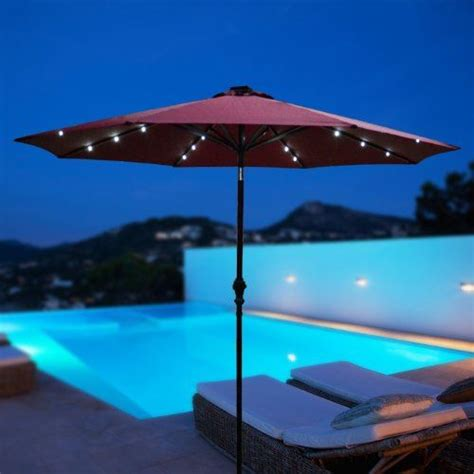 24 Best Images About Solar Lights On Pinterest Outdoor Solar Patio String Umbrella Lights
