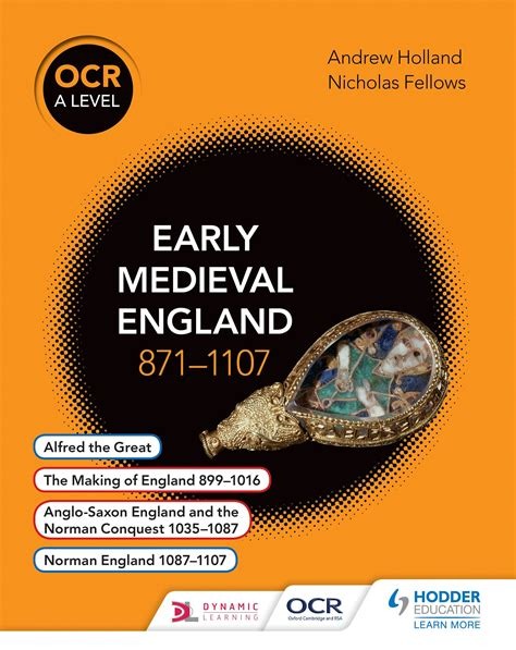 ocr a level history ocr a level history early medieval england 871 1107 by fellows nicholas 9781471836671