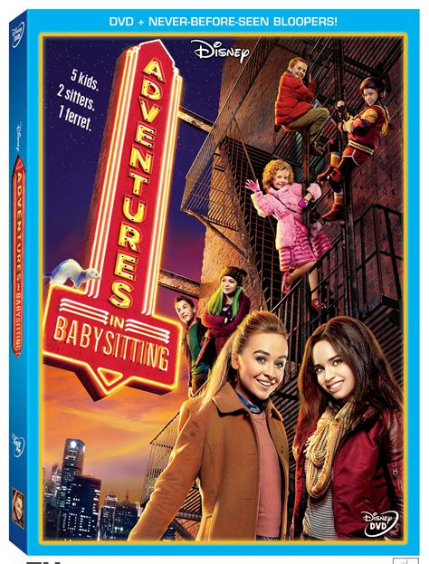 win disney s adventures in babysitting on dvd