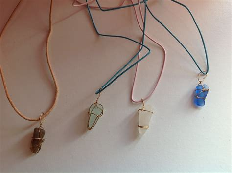 how to make jewelry out of sea glass sea glass necklace 183 how to make a necklace 183 jewelry on