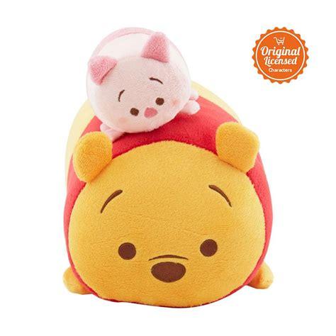 Selimut Karakter Tsum Tsum Squad jual disney tsum tsum pooh piglet bolster harga