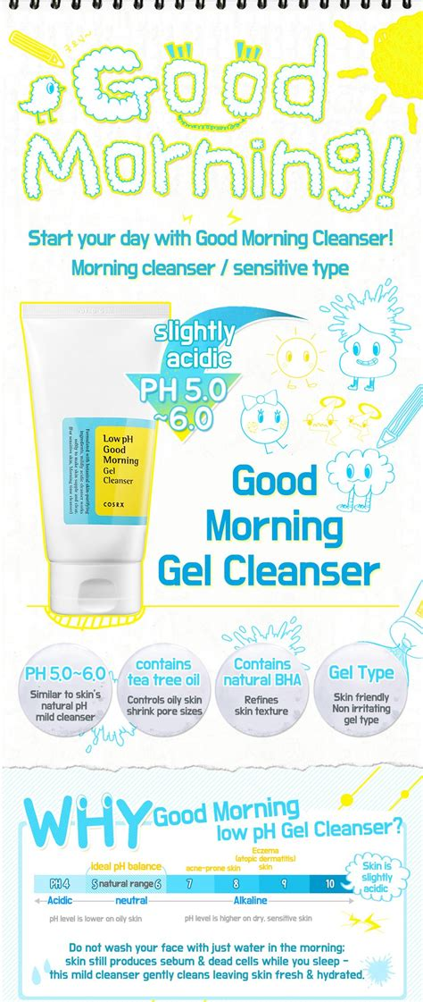 Cosrx Ph Low Morning Gel Cleanser 150ml cosrx low ph morning gel cleanser 150ml uk seller ebay