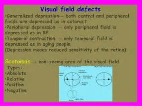 Left Eye Blind Spot Visual Field Analysis Interpretation