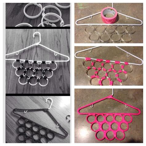 diy curtain rings the hanger diy and crafts and shower curtain hooks on