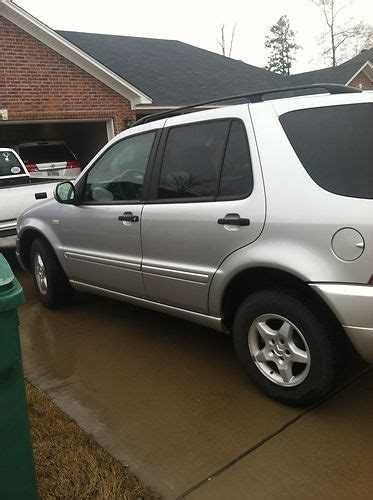 base sport utility 4 door purchase used 2001 mercedes benz ml320 base sport utility 4 door 3 2l in charleston arkansas