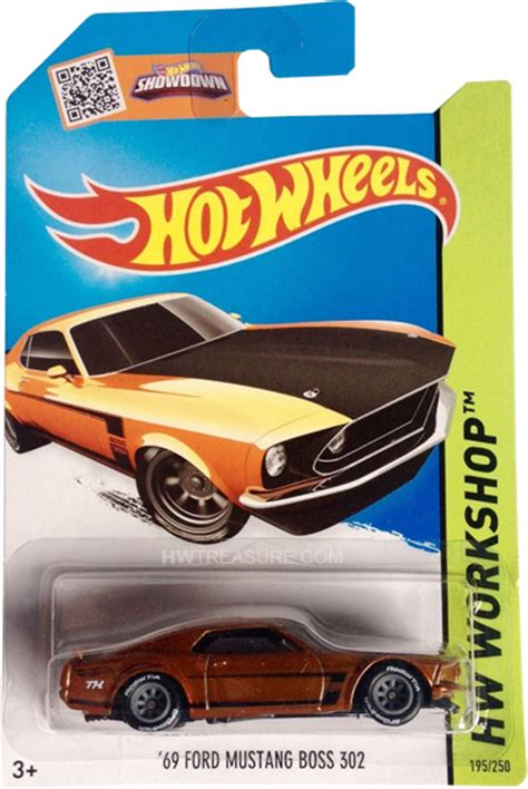 Hotwheels 12 Ford Th Reguler Treasure Hunt Hotwheel Wheels 69 ford mustang 302 wheels 2015 treasure