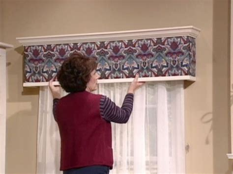 Make Your Own Cornice How To Build And Install An Upholstered Window Cornice Box