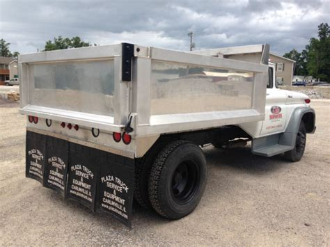 1962 Chevrolet C60 Truck With 10 Foot Aluminum Dump Bed