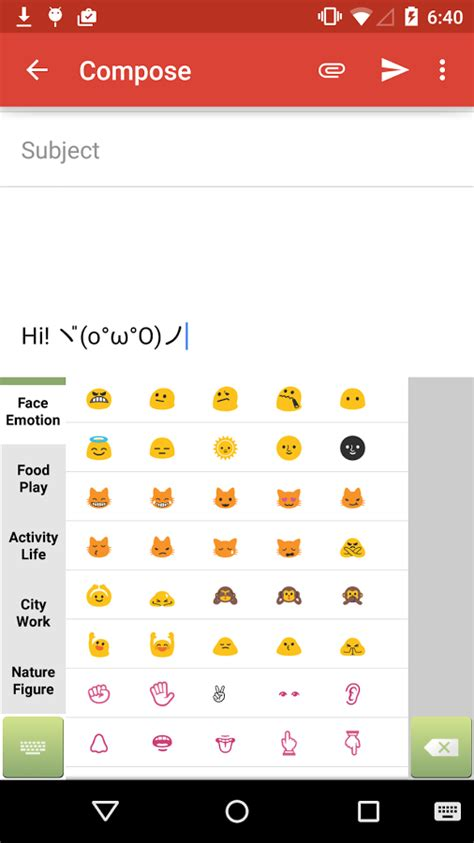 emoticon keyboard android скачать emoticon keyboard 2 2 3 для android