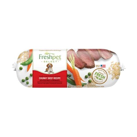 freshpet select food fresh pet select brand food dogs w chunky beef vegetable rice food 1
