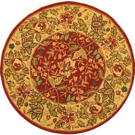 4 ft rug safavieh chelsea ivory 4 ft x 4 ft area rug
