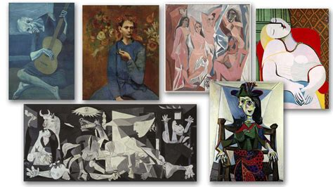 picasso paintings in order picasso paintings choose his ultimate masterpiece netivist