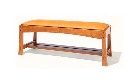 Arts Crafts Style Bench